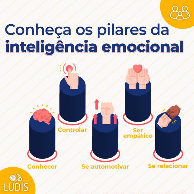 Os pilares da Inteligência Emocional para a educação.